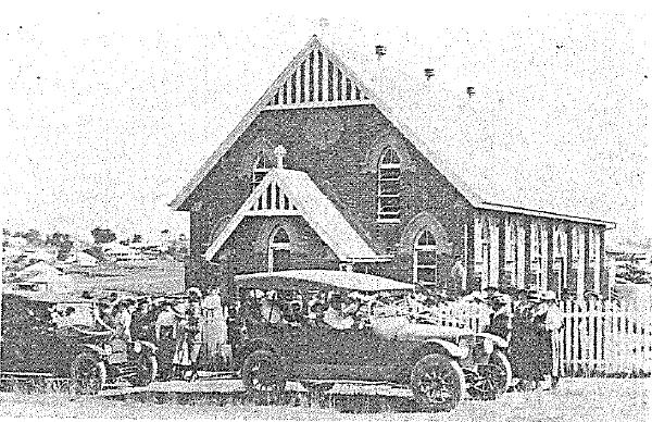 church in 1917